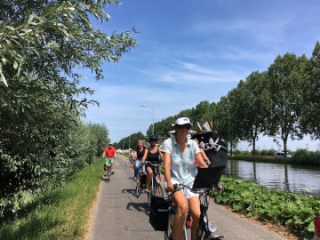bike tours in Holland